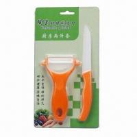 Quality Ceramic Knife Set with Ceramic Peelers, Customized Colors are Welcome wholesale
