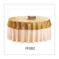 Quality Fashionable Double Layer Round Table Covers for Restaurant or Hotel wholesale