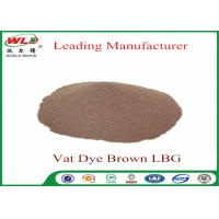 Quality Synthetic Textile Reactive Dyes Vat Brown Lbg Textile Dyes And Chemicals wholesale