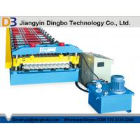Quality Galvanized Steel Corrugated Sheet Roll Forming Machine 0.3-0.8 Thickness wholesale