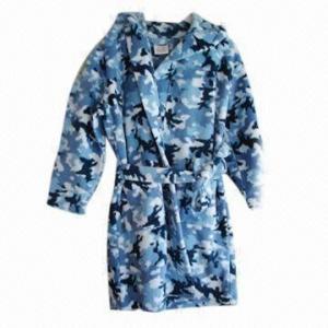 Quality Boy's robe, made of polyester polar fleece wholesale