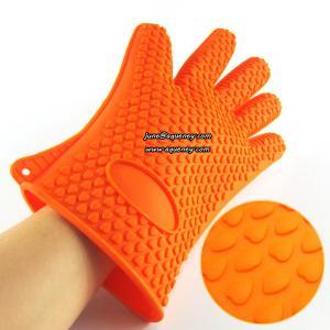 Quality FDA Silicone glove Silicone Oven Glove silicone heat resistant glove wholesale