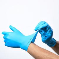 China Sterile Latex Disposable Medical Glove  Oil Resistance Smooth Touch Easy Wear on sale