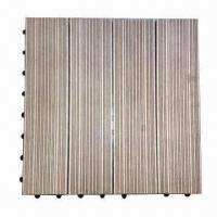 China DIY Decking Tiles, Anti-termite and -slip on sale