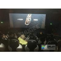 Quality Red / Black 5D Movie Theater For 5 Persons With Fiber Glass Material wholesale
