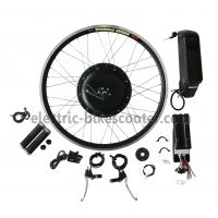 Quality 38Km / H Electric Bike Conversion Kits 26 Inch Wheel 16Kgs Disc Brake Powerful Rear Gear Motor wholesale