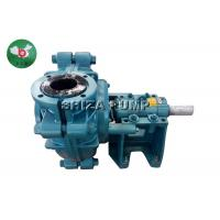 Quality Industrial Acid Electric Rubber Lined Slurry Pumps CR DC CL ZVZ Solids Handling wholesale