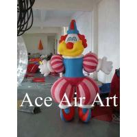 Quality funny 2.5m H advertising inflatable clown character for event decoration wholesale