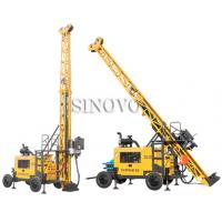Cheap Full hydraulic-mounted Geological Drilling Rig Diesel Engine With Flexible Operating System for sale