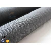 Quality 800gsm Black Vermiculite Coated Fiberglass Fabric Thermal Insulation Materials wholesale