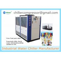 Quality Low Noise 65KW 18 Tons Industrial Air Cooled Recirculating Water Chiller for Plastic Injection Machine wholesale