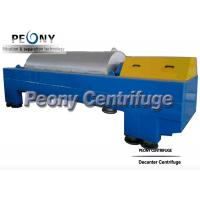 Quality Continuous Decanter Centrifuges 3 Phase Centrifuge Oil Sludge Separator wholesale