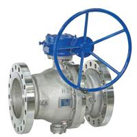 Quality WCB Full Bore Ball Valve 900lb 1500lb Lf2 Body Nylon R-Ppfe Seat Gear Operate wholesale