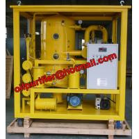 Quality Super High Voltage Transformer Oil Purifier Type insulation Oil Purification Machine for 200KVX,500KVA,700KVA wholesale