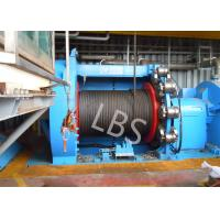 Quality 10T 20T Hydraulic Windlass Winch With Lebus Grooving Drum Eco Friendly wholesale