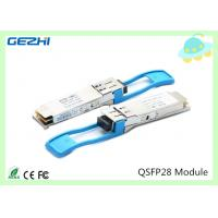 Quality 100G QSFP28 Transceivers SR4 MMF 850nm Reach 100M , MTP / MPO connector wholesale
