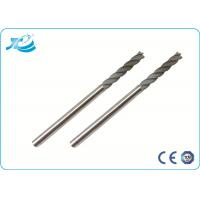 China HRC 55 Cutting Tools Tungsten Solid Carbide End Mill Flat End Mill on sale