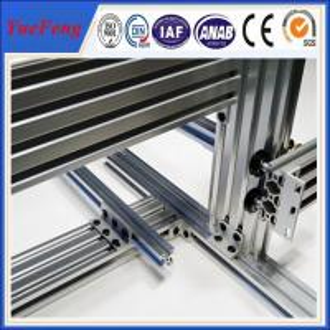 China Hot! t slot industrial aluminum extrusion profile, large industrial aluminium profile on sale