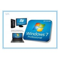 Quality Windows 7 Professional Full Retail Version 32 & 64 Bit With Genuine Key wholesale