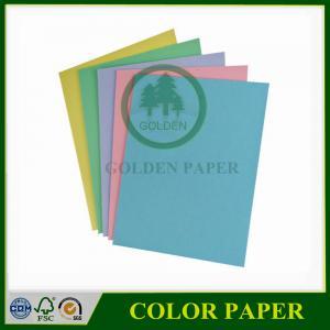 Cheap 70gsm 75gsm 80gsm a4 color copy paper color bond paper color paper for sale