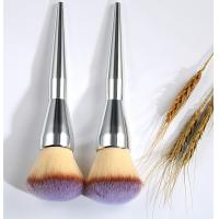 Quality Oval Cosmetic Foundation Brush 19 cm Total Length 4.5 cm Hair Length wholesale
