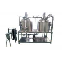 Quality Custom Design Small Brewery Equipment With Electric / Steam / Direct Fired wholesale