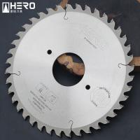 China Multiple Board Artificial Stone Fiber Cement Saw Blade With Anti Chipping Edge on sale