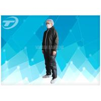Quality Lightweight Anti - Acid Disposable Coverall Suit Microporous Film Laminated Fabric wholesale