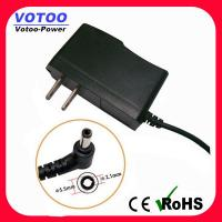 Quality Wall Plug AC DC Power Adapter 1A 110v - 220v Over Voltage Protection wholesale