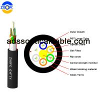 Quality Aerial Duct Non Metallic Fiber Optic Cable GYFTY 48 Core Crush Resistance wholesale