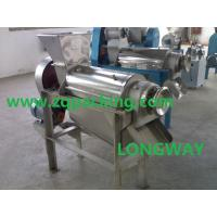 China Spiral Type Fruit Juice Making Machine|Screw Model Ginger Juice Extractor on sale