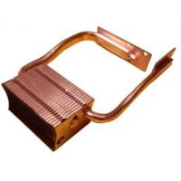 Quality OEM Copper Skived Fin Heat Sink Copper Cu1100 For Projector /  Computer wholesale