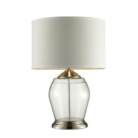 China ROHS Glass Round 120V Contemporary Glass Table Lamps on sale
