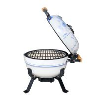 China Small portable grill smokeless yakitori grill barbeque Ceramic  grill on sale