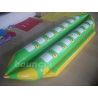 Quality Double Lanes Inflatable Banana Boat With Reinforced Strips For Adult wholesale