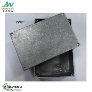 China 1590J Die Cast Aluminum Enclosure For Stomp Box IP54 Dimension 5.7X3.74X1.95 on sale