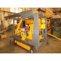 Quality Sinovo Crawler Core Drilling Rig With Diesel Engine And Drilling Depth 180m wholesale