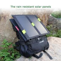 Quality 13W Solar Panel For Mobile Charger Foldable , Waterproof Solar Charger wholesale
