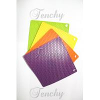 Quality Silicone Square placemats and coasters for tableware wholesale