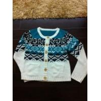 China Lady Knitted Cardigan Sweater Intarsia Knit Fashion Garment (S8873) on sale