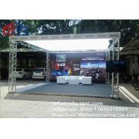 Cheap Special Shape Aluminum Light Truss With Welded Aluminum Tubes 290x290mm for sale
