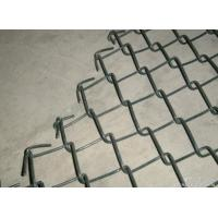 Quality Commercial / Residential Vinyl Chain Link Fence 11Gauge 2 3 / 8'' wholesale