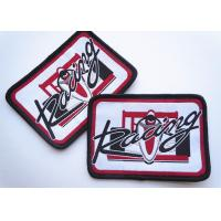 Quality Polyester Woven Custom Clothing Patches Self Adhesive Embroidery wholesale