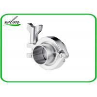 Quality Stainless Steel Sanitary Tri Clamp Fittings Short Type For Food Industries wholesale
