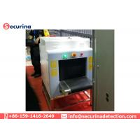 China Parcel X Ray Airport Baggage Scanner Machine Dual Energy Color Scanning Image Display on sale
