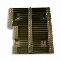 China Soldering Heat-sink, Made of Aluminum Material with Nickel Plating on sale