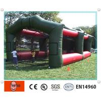 Quality Realistic Inflatable Batting Cages ,  Inflatable Driving Range For Kids / Adults Sports Game wholesale