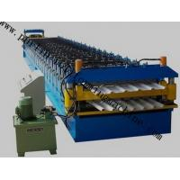 Quality Color Coated Roof Panel Roll Forming Machine , Roof Tile Forming Machine For Metal Sheet wholesale