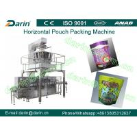 Quality SS304 Horizontal pouch packaging machines , granule packaging machine wholesale