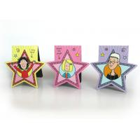 Custom Personalized Rubber Magnetic Bookmarks for Children Gifts , Star Shaped